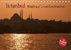 Istanbul – Stadt auf zwei Kontinenten (Tischkalender 2019 DIN A5 quer) von Härlein,  Peter