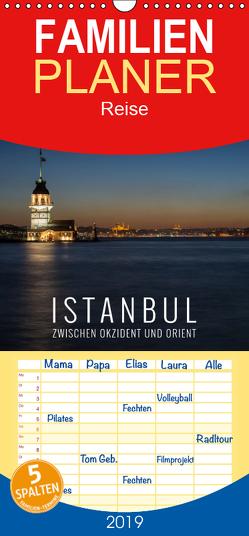 Istanbul – zwischen Okzident und Orient – Familienplaner hoch (Wandkalender 2019 , 21 cm x 45 cm, hoch) von Bremser,  Christian