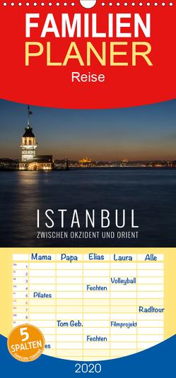 Istanbul – zwischen Okzident und Orient – Familienplaner hoch (Wandkalender 2020 , 21 cm x 45 cm, hoch) von Bremser,  Christian