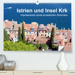 Istrien und Insel Krk – Impressionen eines kroatischen Sommers (Premium, hochwertiger DIN A2 Wandkalender 2020, Kunstdruck in Hochglanz) von Sucker,  Anja