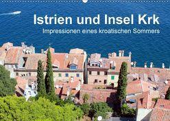 Istrien und Insel Krk – Impressionen eines kroatischen Sommers (Wandkalender 2018 DIN A2 quer) von Sucker,  Anja