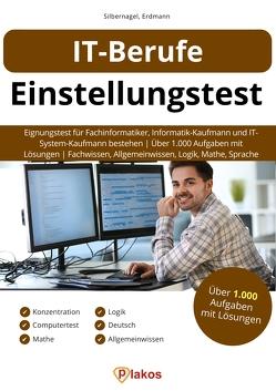 IT-Berufe Einstellungstest von Erdmann,  Waldemar, Silbernagel,  Philipp