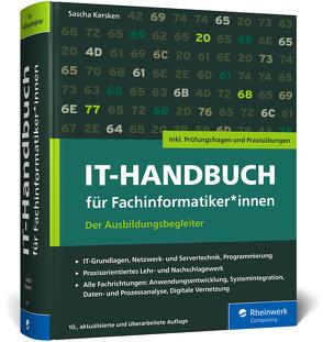 IT-Handbuch für Fachinformatiker*innen von Kersken,  Sascha