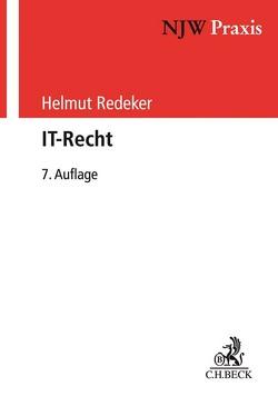 IT-Recht von Redeker,  Helmut
