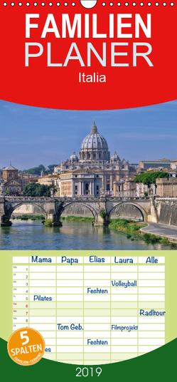 Italia – Familienplaner hoch (Wandkalender 2019 , 21 cm x 45 cm, hoch) von LianeM