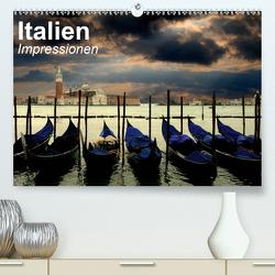 Italien • Impressionen (Premium, hochwertiger DIN A2 Wandkalender 2021, Kunstdruck in Hochglanz) von Stanzer,  Elisabeth
