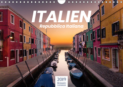 Italien – einzigartige Motive (Wandkalender 2019 DIN A4 quer) von Lederer,  Benjamin