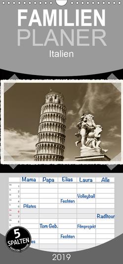 Italien – Familienplaner hoch (Wandkalender 2019 , 21 cm x 45 cm, hoch) von Kirsch,  Gunter
