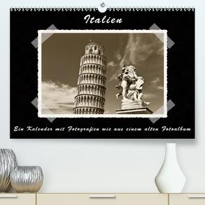 Italien (Premium, hochwertiger DIN A2 Wandkalender 2021, Kunstdruck in Hochglanz) von Kirsch,  Gunter