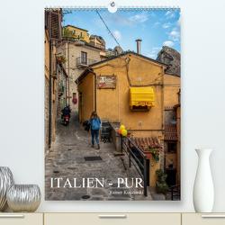 Italien – Pur (Premium, hochwertiger DIN A2 Wandkalender 2021, Kunstdruck in Hochglanz) von Kuczinski,  Rainer