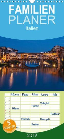 Italien, Terminplaner – Familienplaner hoch (Wandkalender 2019 , 21 cm x 45 cm, hoch) von Kirsch,  Gunter