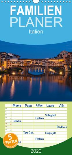 Italien, Terminplaner – Familienplaner hoch (Wandkalender 2020 , 21 cm x 45 cm, hoch) von Kirsch,  Gunter