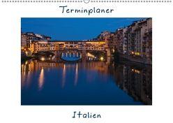 Italien, Terminplaner (Wandkalender 2018 DIN A2 quer) von Kirsch,  Gunter