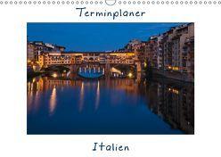 Italien, Terminplaner (Wandkalender 2019 DIN A3 quer) von Kirsch,  Gunter