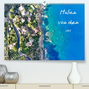 Italien von oben (Premium, hochwertiger DIN A2 Wandkalender 2020, Kunstdruck in Hochglanz) von Johannes Jansen,  Dr., Luisa Rüter,  Dr.