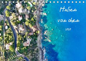 Italien von oben (Tischkalender 2020 DIN A5 quer) von Johannes Jansen,  Dr., Luisa Rüter,  Dr.