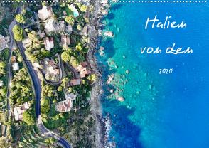 Italien von oben (Wandkalender 2020 DIN A2 quer) von Johannes Jansen,  Dr., Luisa Rüter,  Dr.