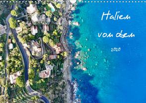 Italien von oben (Wandkalender 2020 DIN A3 quer) von Johannes Jansen,  Dr., Luisa Rüter,  Dr.