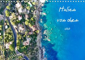 Italien von oben (Wandkalender 2020 DIN A4 quer) von Johannes Jansen,  Dr., Luisa Rüter,  Dr.