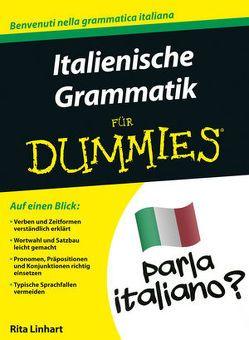 Italienische Grammatik für Dummies von Linhart,  Rita
