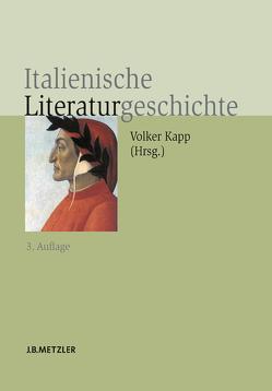 Italienische Literaturgeschichte von Kapp,  Volker