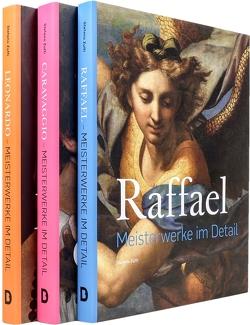 Italienische Meister im Detail SET (3 Bde.) von Caravaggio, Leonardo, Raffael, Zuffi,  Stefano