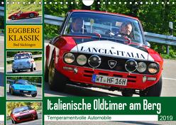 Italienische Oldtimer am Berg (Wandkalender 2019 DIN A4 quer) von Laue,  Ingo