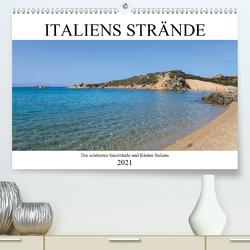 Italienische Strände und Küsten (Premium, hochwertiger DIN A2 Wandkalender 2021, Kunstdruck in Hochglanz) von Fotografie,  ferragsoto