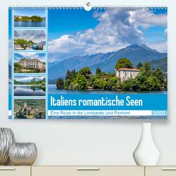 Italiens romantische Seen (Premium, hochwertiger DIN A2 Wandkalender 2020, Kunstdruck in Hochglanz) von Di Chito,  Ursula