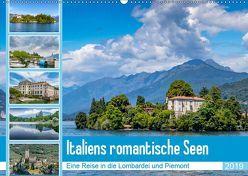Italiens romantische Seen (Wandkalender 2019 DIN A2 quer) von Di Chito,  Ursula