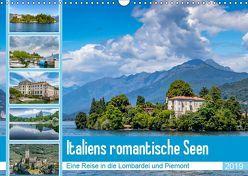 Italiens romantische Seen (Wandkalender 2019 DIN A3 quer) von Di Chito,  Ursula