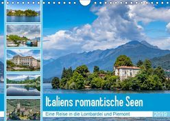 Italiens romantische Seen (Wandkalender 2019 DIN A4 quer) von Di Chito,  Ursula