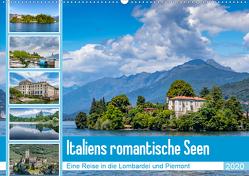 Italiens romantische Seen (Wandkalender 2020 DIN A2 quer) von Di Chito,  Ursula