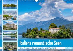 Italiens romantische Seen (Wandkalender 2020 DIN A3 quer) von Di Chito,  Ursula