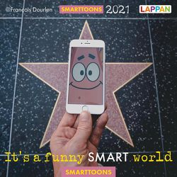 It's a funny smart world: Postkartenkalender 2021 von Dourlen,  Francois