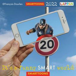 It's a funny smart world: Postkartenkalender 2022 von Dourlen,  Francois
