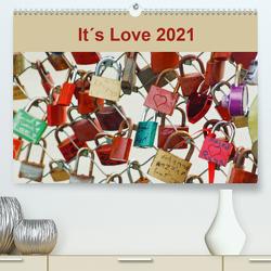 It´s Love 2021 (Premium, hochwertiger DIN A2 Wandkalender 2021, Kunstdruck in Hochglanz) von Meyer,  Ines