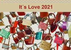 It´s Love 2021 (Tischkalender 2021 DIN A5 quer) von Meyer,  Ines