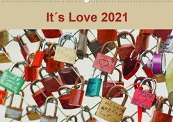 It´s Love 2021 (Wandkalender 2021 DIN A2 quer) von Meyer,  Ines
