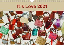 It´s Love 2021 (Wandkalender 2021 DIN A4 quer) von Meyer,  Ines