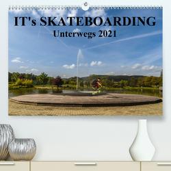 it's Skateboarding – Unterwegs (Premium, hochwertiger DIN A2 Wandkalender 2021, Kunstdruck in Hochglanz) von Wenk,  Michael