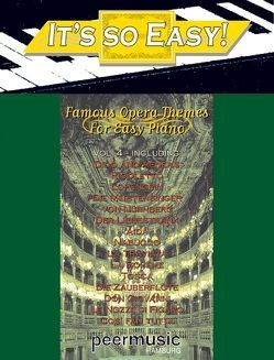 It's So Easy, Vol. 4 – Famous Opera Themes von Donizetti,  Gaetano, Mozart,  Wolfgang Amadeus, Peermusic, Puccini,  Giacomo, Purcell,  Henry, Verdi,  Giuseppe, Wagner,  Richard