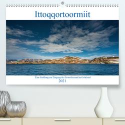 Ittoqqortoormiit – Eine Siedlung am Eingang des Scoresbysund in Grönland (Premium, hochwertiger DIN A2 Wandkalender 2021, Kunstdruck in Hochglanz) von Hagen,  Mario
