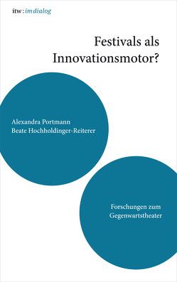 itw : im dialog – Band 4: Festivals als Innovationsmotor von Hochholdinger-Reiterer,  Beate, Portmann,  Alexandra