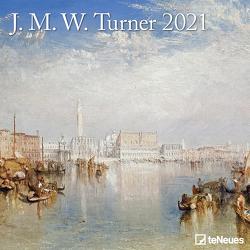 J.M.W. Turner 2021 – Wand-Kalender – Broschüren-Kalender – 30×30 – 30×60 geöffnet – Kunst-Kalender von Turner,  Joseph Mallord William