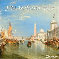 J.M.W. Turner 2022 – Wand-Kalender – Broschüren-Kalender – 30×30 – 30×60 geöffnet – Kunst-Kalender von Turner,  Joseph Mallord William