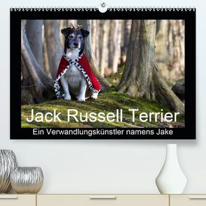 Jack Russell Terrier…..Ein Verwandlungskünstler namens Jake (Premium, hochwertiger DIN A2 Wandkalender 2021, Kunstdruck in Hochglanz) von S. + J. Schröder,  AWS, Schroeder,  Susanne, Werbeagentur