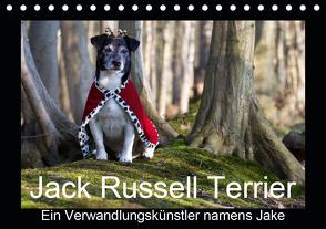 Jack Russell Terrier…..Ein Verwandlungskünstler namens Jake (Tischkalender 2021 DIN A5 quer) von S. + J. Schröder,  AWS, Schroeder,  Susanne, Werbeagentur