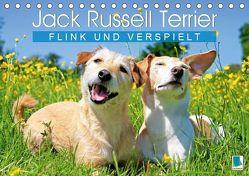 Jack Russell Terrier: flink und verspielt (Tischkalender 2019 DIN A5 quer)