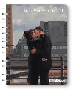 Jack Vettriano 2021 – Diary – Buchkalender – Taschenkalender – Kunstkalender – 16,5×21,6 von Vettriano,  Jack